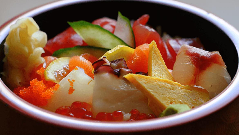Chirashi-Sushi Menü