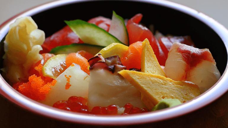 Chirashi Sushi Menu