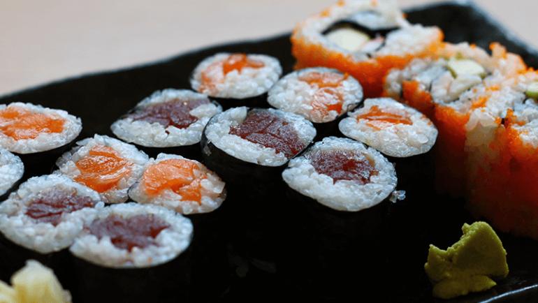 Maki Sushi Menu
