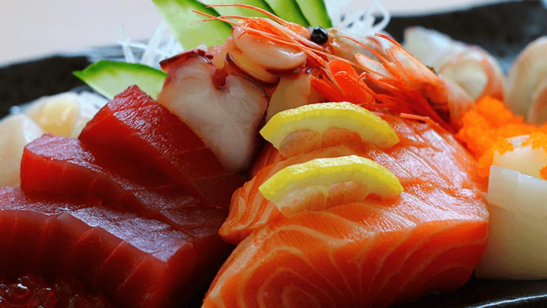 Sashimi-Platte
