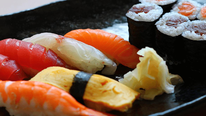 Sushi-Menü – Mittag