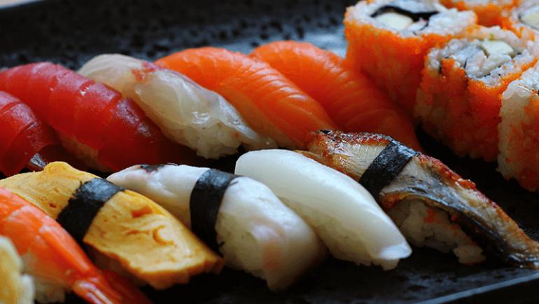 Sushi-Platte KAI